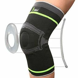 Tech Ware Pro Knee Compression Sleeve - Best Knee Brace Side