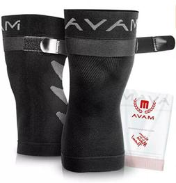 Mava Sports Knee Compression Sleeve Support  for Joint Pain