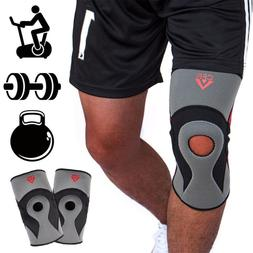 Knee Compression Sleeves Basketball volleyball Brace Support