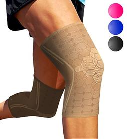 Sparthos Knee Compression Sleeves by  – Support for Sports