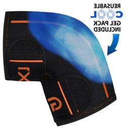Knee Ice Pack Wrap Cold Hot Gel Reusable Therapy Sleeve Supp