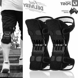 Knee Pads Power Ace Support Brace Sleeve Pain Joint Stabiliz