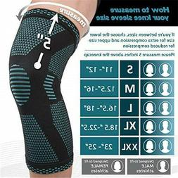 knee sleeve compression brace joint support arthritis