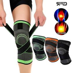 Knee Sleeve Compression Brace Patella Support Stabilizer Spo