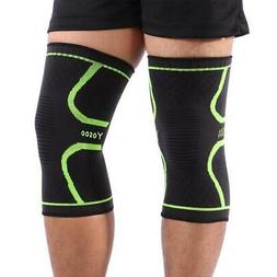 Knee Sleeve Compression Brace Support For Sport Joint Pain L