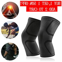 Knee Sleeve Compression Brace Support Gear Joint Pain Relief