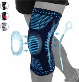 Knee Sleeve Compression Brace Support Pad For Sports Joint P