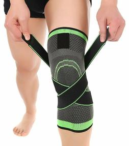 knee sleeve compression fit support for joint