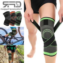 Knee Sleeve Pads Compression Support Joint Pain Arthritis Re
