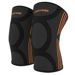 ProFitness Knee Sleeves  Knee Support for Joint Pain & Arthr