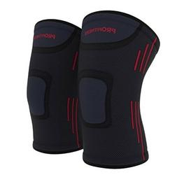 ProFitness Knee Sleeves  Knee Support For Joint Pain Arthrit
