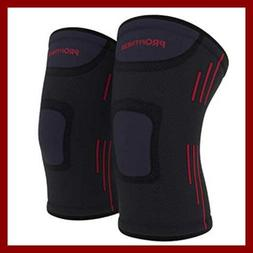 Profitness Knee Sleeves One Pair Support For Joint Pain & Ar