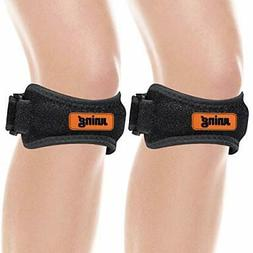 Knee Strap 2 Pack, Patellar Tendon Support Strap, Knee Strap