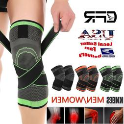 Knee Support Brace Adjustable Straps Patella Stabilizer Men
