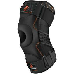 Shock Doctor Knee Support Brace with Dual Hinges - Black
