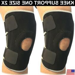 Knee Support Compression Pain Relief Brace Reduce Injury Men
