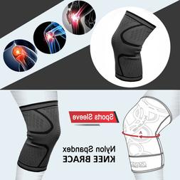 Knee Support Elasticated Sleeve Compression Stabilizer Brace
