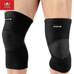 Mava Sports Knee Support Sleeves  for Joint Pain and Arthrit