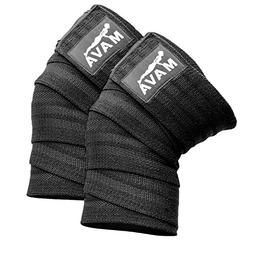 Mava Sports Knee Wraps  for Cross Training WODs Gym Workout