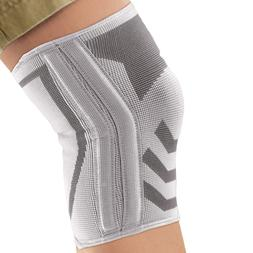 knitted compression knee br with dual side