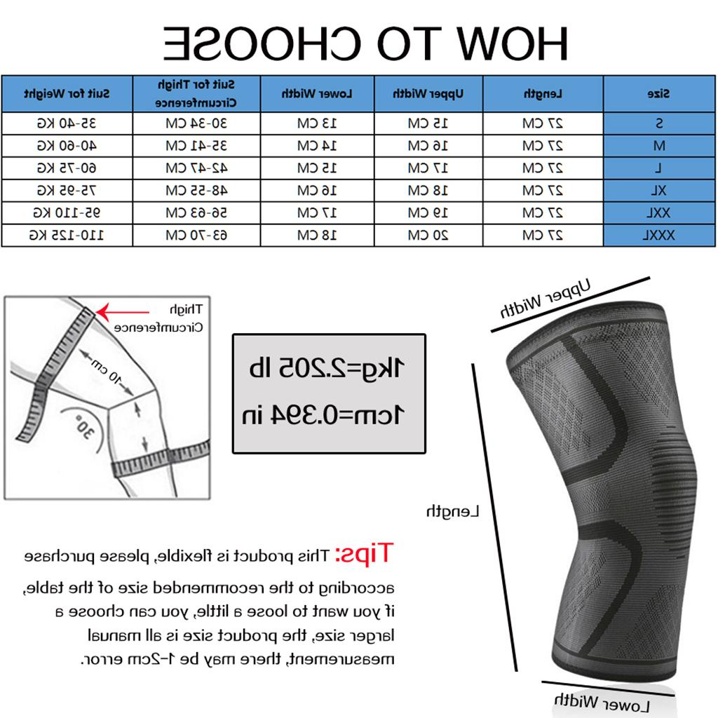 WorthWhile 1 <font><b>Knee</b></font> <font><b>Pads</b></font> Sports Fitness Kneepad Fitness Patella Brace Running Volleyball
