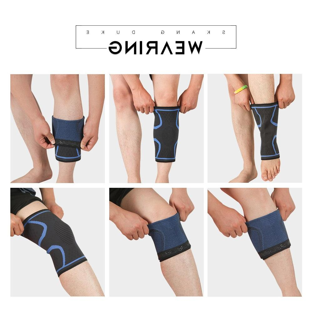1pc Nylon <font><b>Knee</b></font> Hiking Protector Joelheiras SKDK