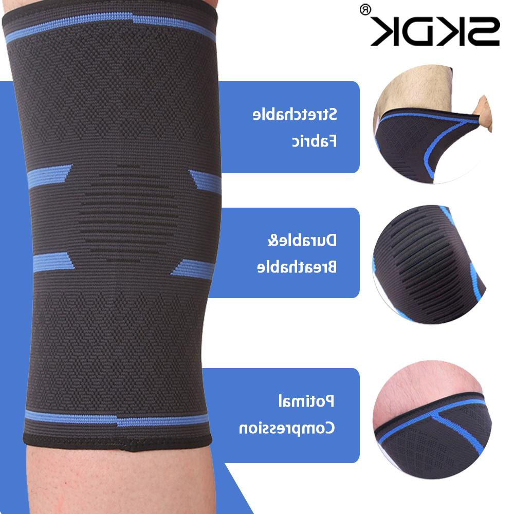 1pc Nylon Elastic <font><b>Sports</b></font> <font><b>Knee</b></font> <font><b>Knee</b></font> Hiking Joelheiras