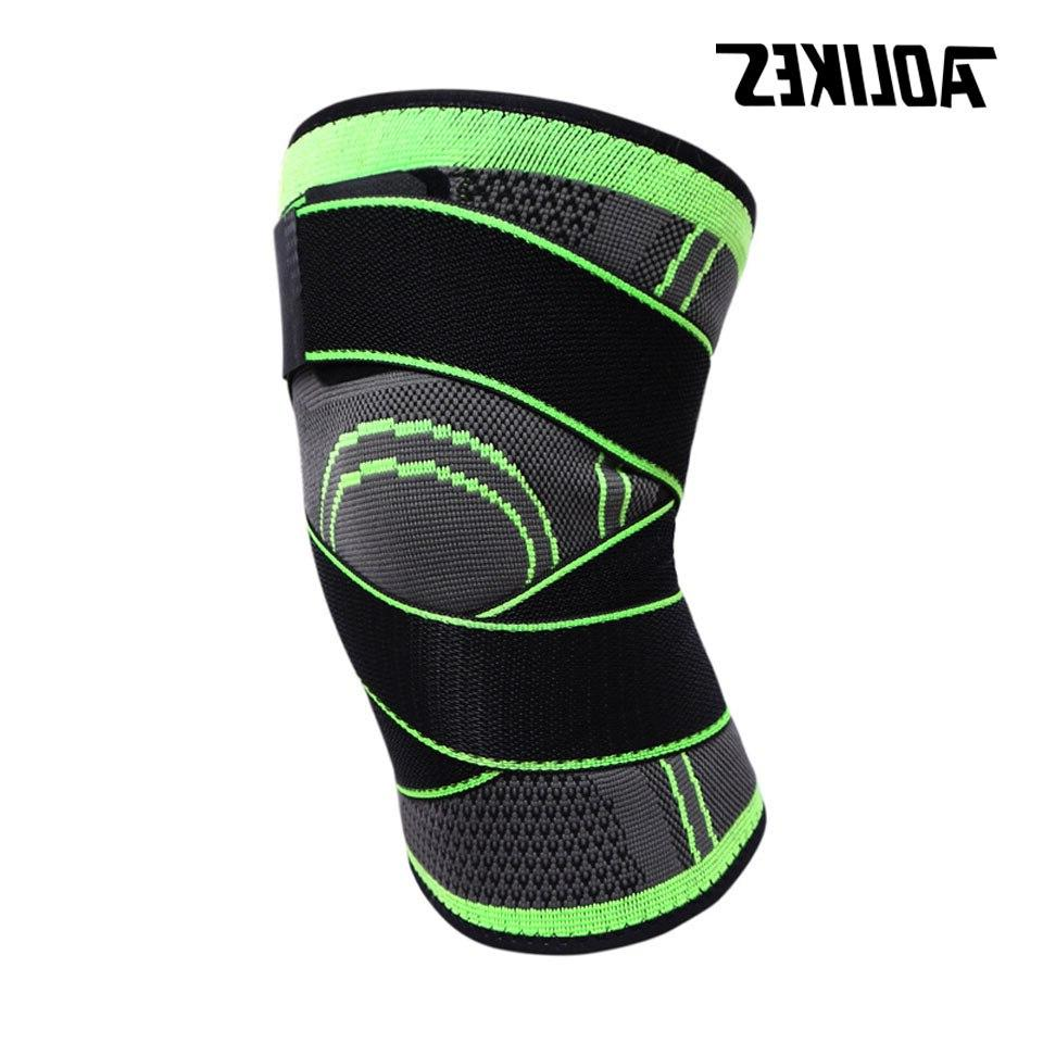 AOLIKES 1PCS Support <font><b>Sports</b></font> <font><b>Knee</b></font> <font><b>Knee</b></font> Basketball Cycling