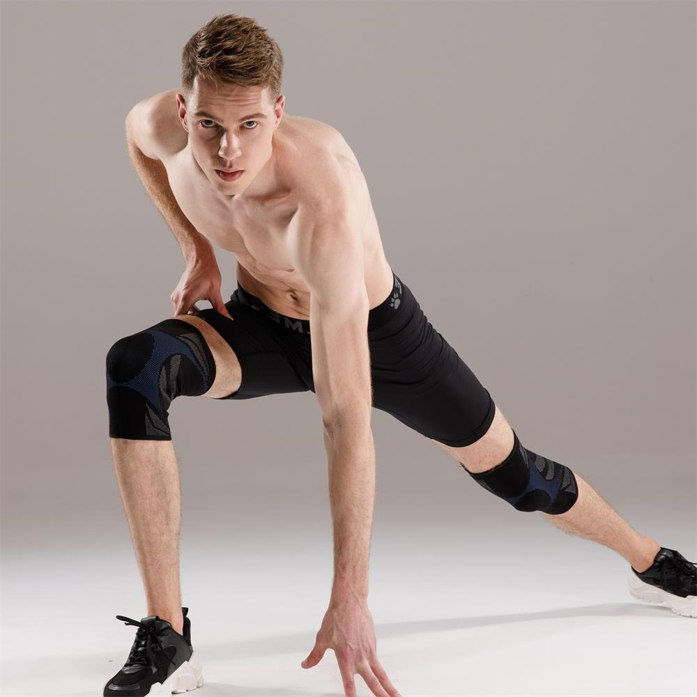 Veidoorn 1pcs Compression Support sleeve <font><b>Brace</b></font> Pad Workout Running