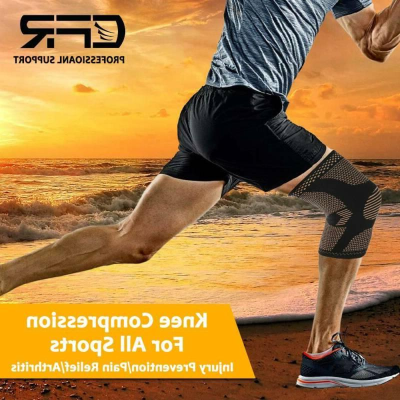 Knee Compression Support Sport Pain