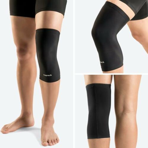 2PCs Copper Knee Sleeve Compression Sports Brace