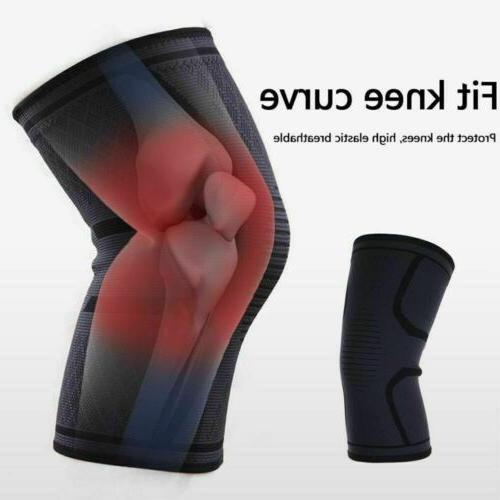 2pcs Knee Sleeve Brace For Joint Pain Arthritis Relief