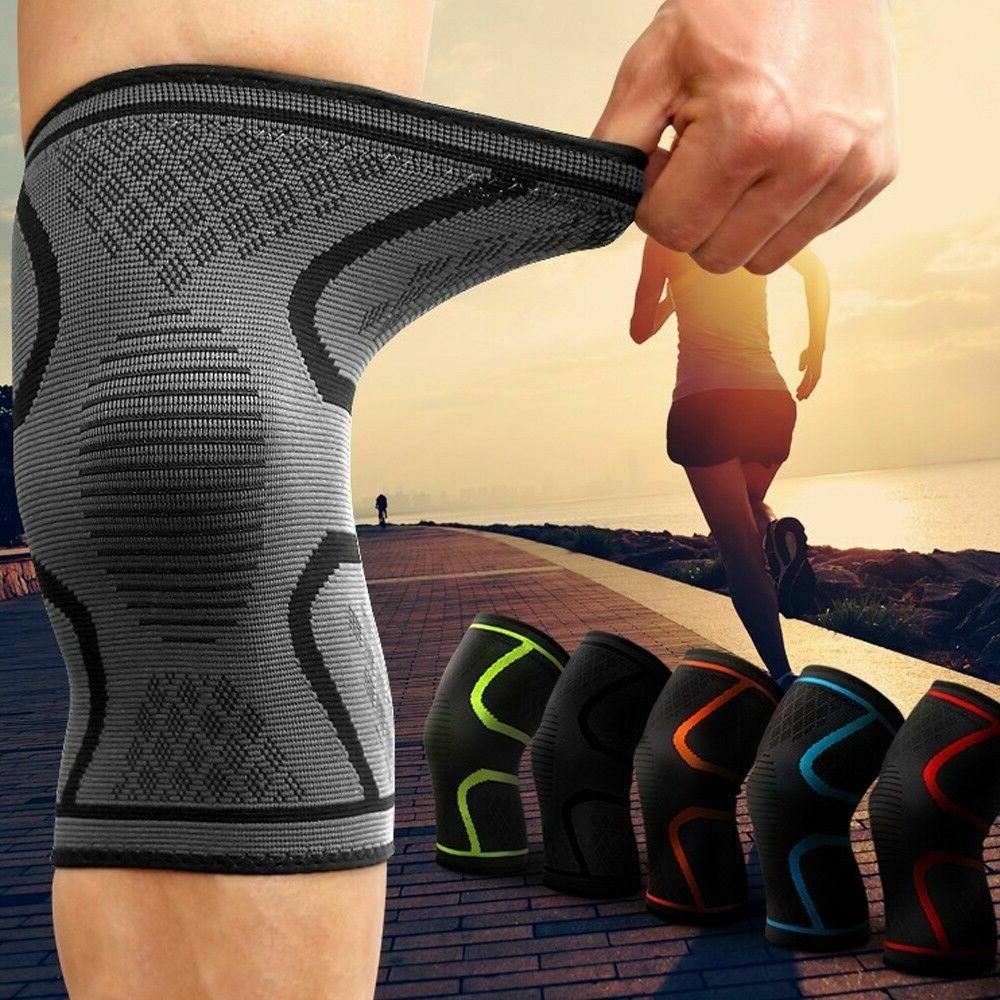2pcs knee sleeve compression brace support