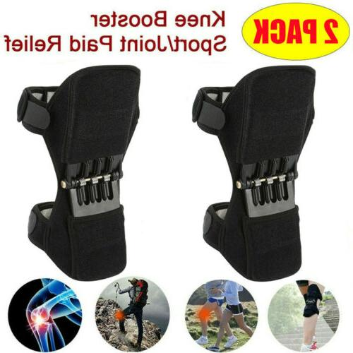 2pcs leg power knee stabilizer pads patella