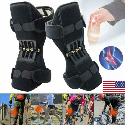 2pcs support brace knee pads booster lift