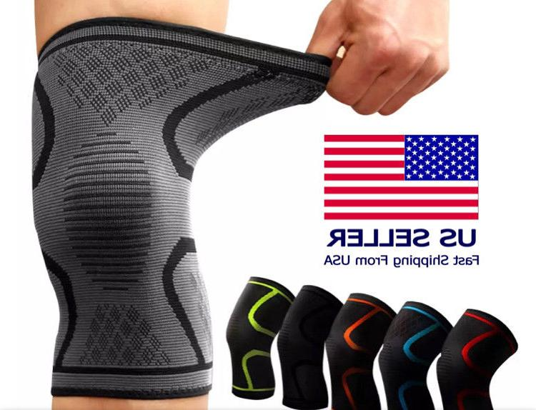 2x knee brace support compression sleeve