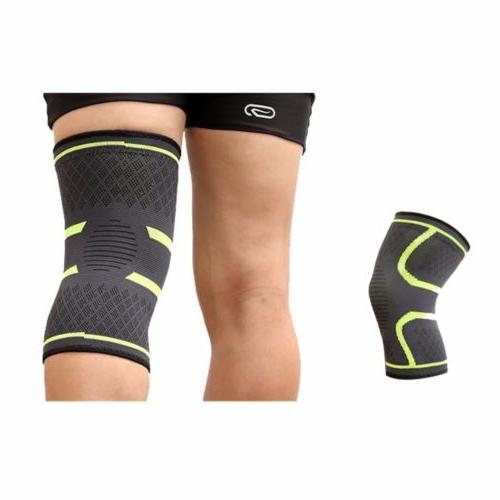 2X Knee Sleeve Brace Support For Joint Pain Arthritis