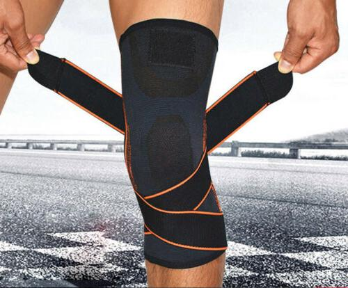 2x Knee Sleeve Brace Support For Sport Joint Pain