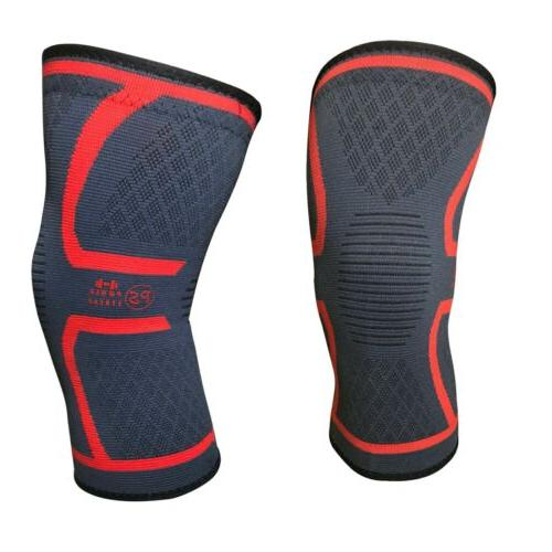 2pcs small knee sleeve compression brace support