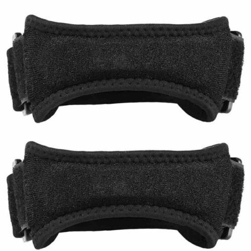 2x Soft Knee Protector Strap Support Knee