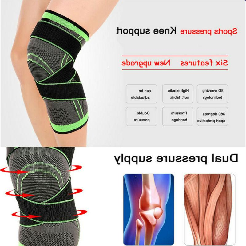 Adjustable Brace Patella Elastic Support Kneecap Stabilizer