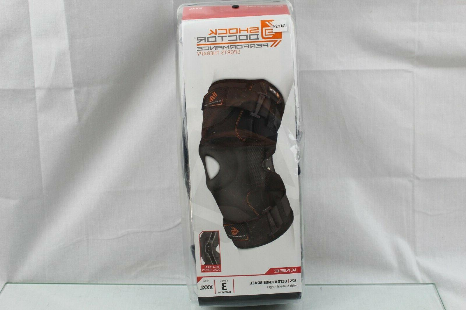 875 ultra knee brace with bilateral hinges