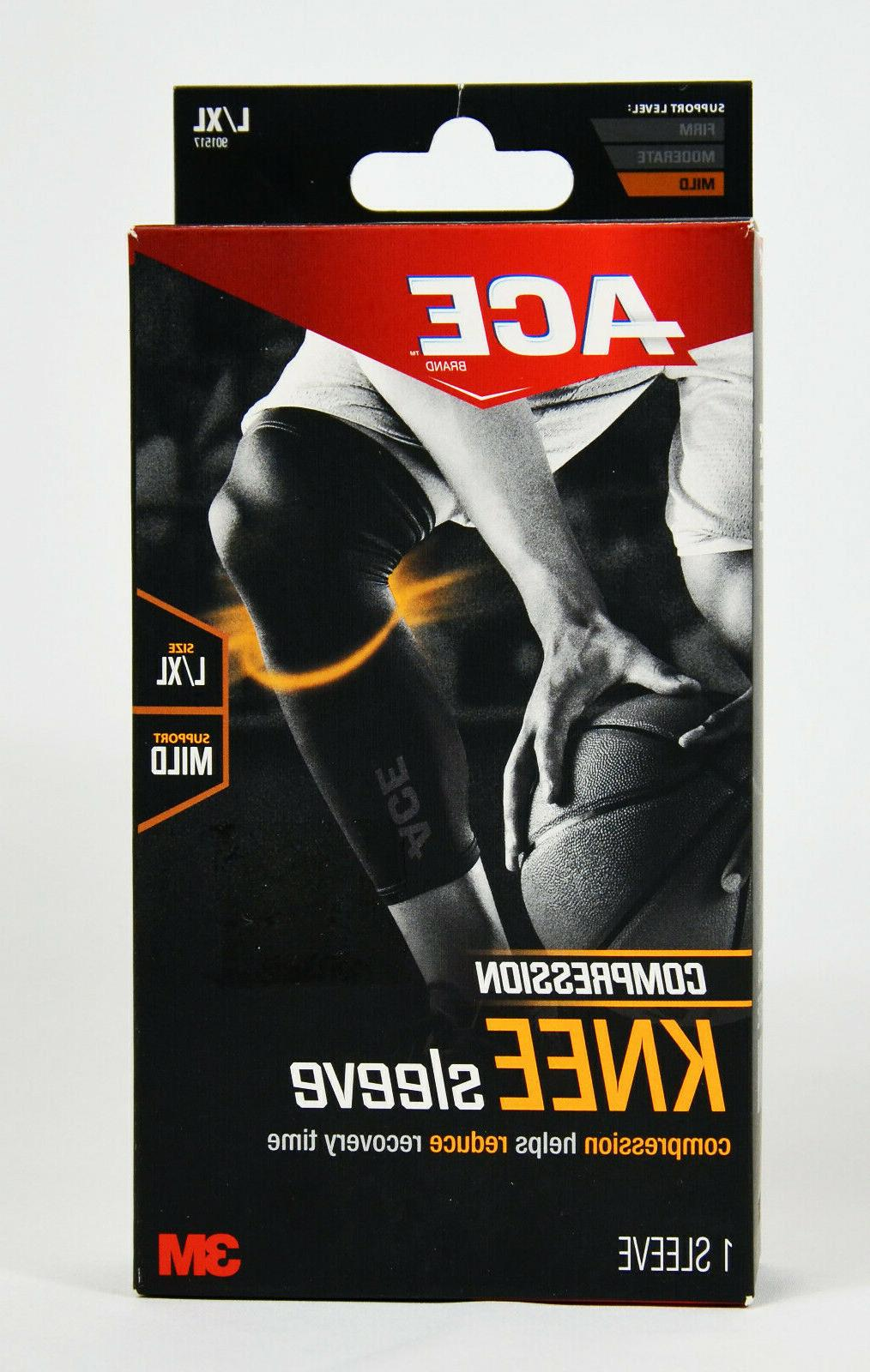 901517 compression knee sleeve l xl pk6