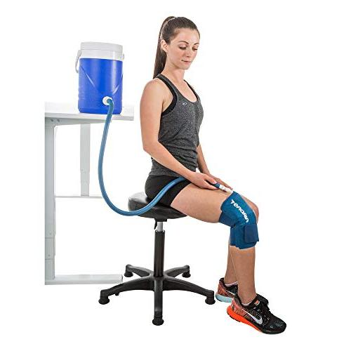 Aircast Cryo Cuff Knee Cold Therapy Machine Cooler for Cold