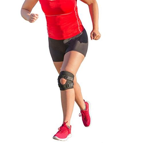 BraceAbility Patellar Tracking Short Knee Brace | Running, E