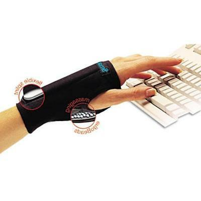 IMAK A20126B SmartGlove Wrist Wrap- Medium- Black