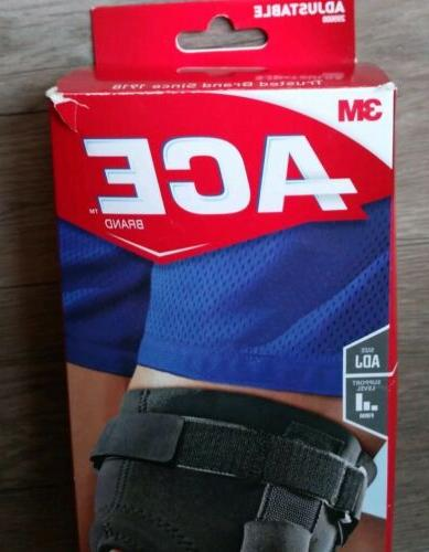 ACE Adjustable Hinged Knee Brace improved size 209600 RIPPED PACK