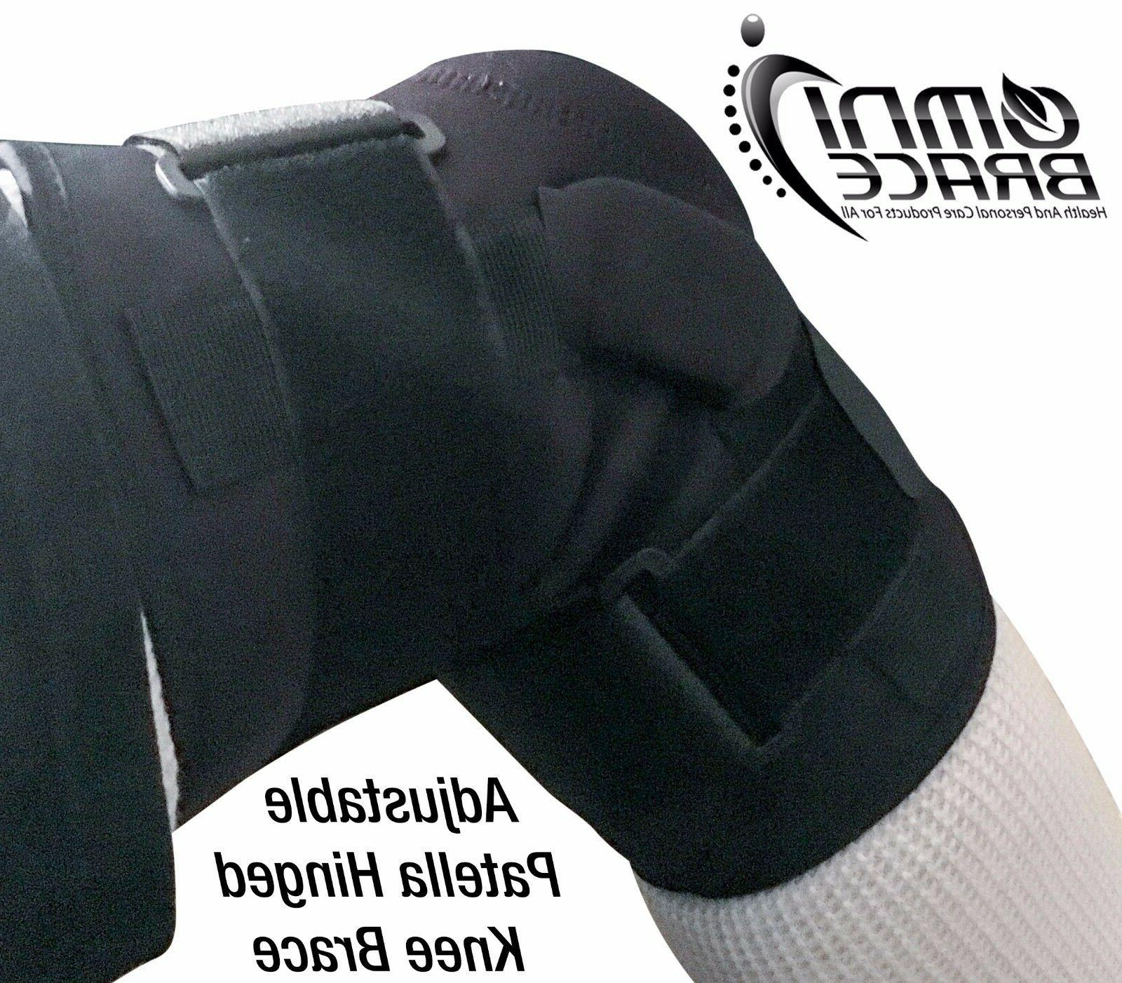 OmniBrace-Adjustable Wraparound Knee M 4XL