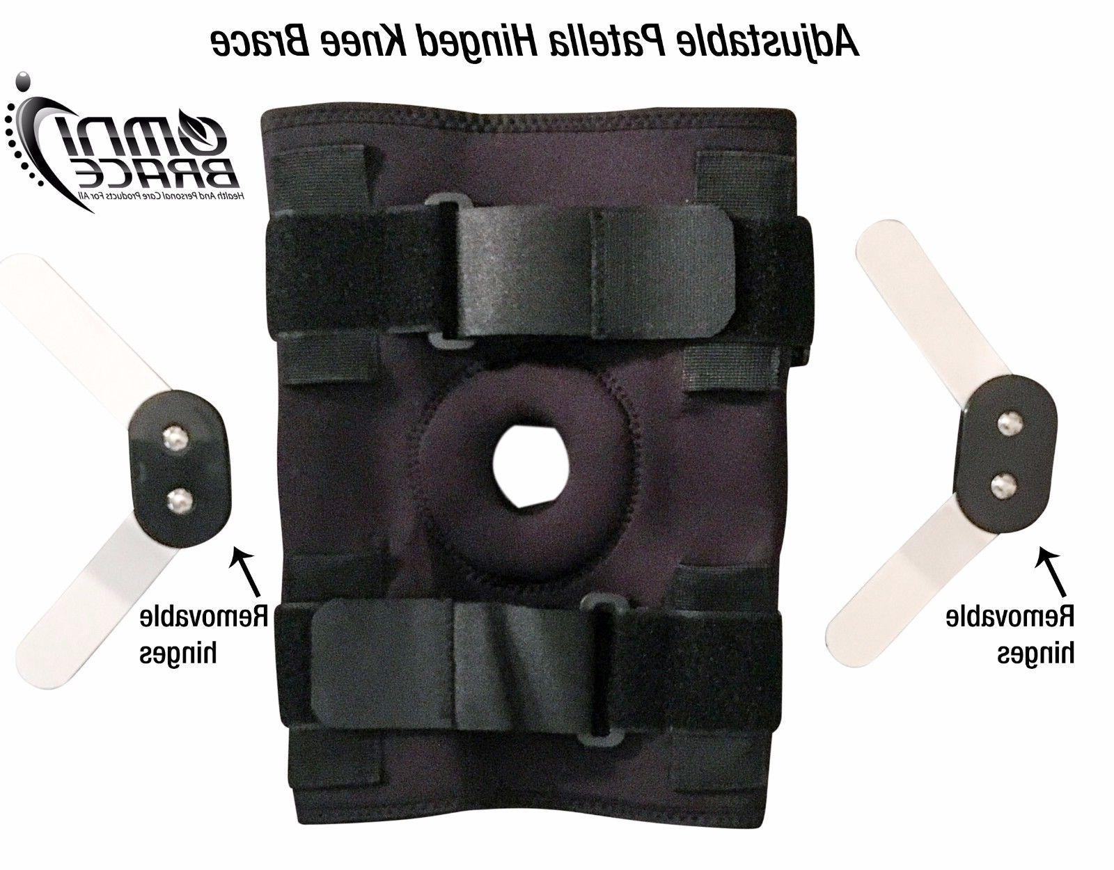 OmniBrace-Adjustable Wraparound Knee Support Brace M to 4XL