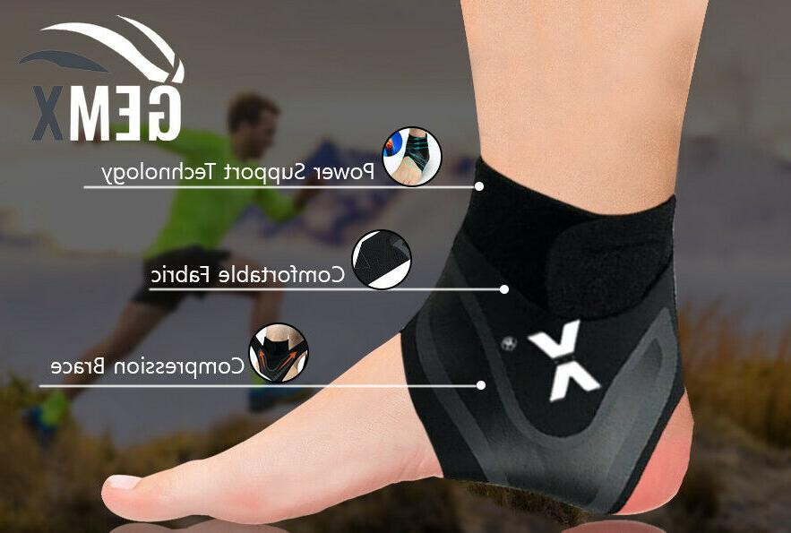 ankle support foot brace medical compression sleeves